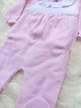 Load image into Gallery viewer, CALAMARO Baby Girls Cotton Sleepsuit