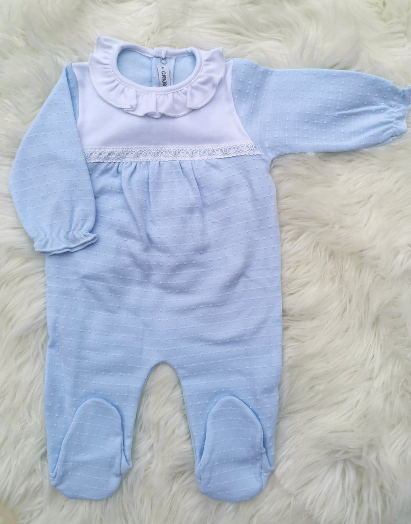CALAMARO Baby Boys Cotton Sleepsuit