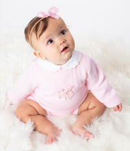 Load image into Gallery viewer, Pink Knit Outfit With Bows