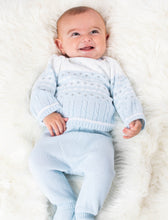 Load image into Gallery viewer, Boys Knitted Winter Wonderland 2 Piece Outfit