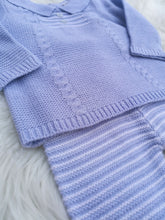 Load image into Gallery viewer, Baby Boys Cable Knit Outfit