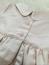 Load image into Gallery viewer, Traditional Boys Cream Smocked Romper