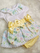 Load image into Gallery viewer, Girls Summer Dress With Flowers And Bows
