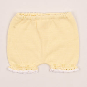 Girls Yellow Portuguese Fine Knit Outfit