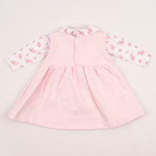 Load image into Gallery viewer, Pretty Pink Baby Girls Dress With Roses