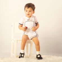 Load image into Gallery viewer, Traditional Spanish Boys Romper With Shirt