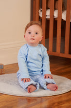Load image into Gallery viewer, Blue 3 Piece Tracksuit With Matching Bodywarmer