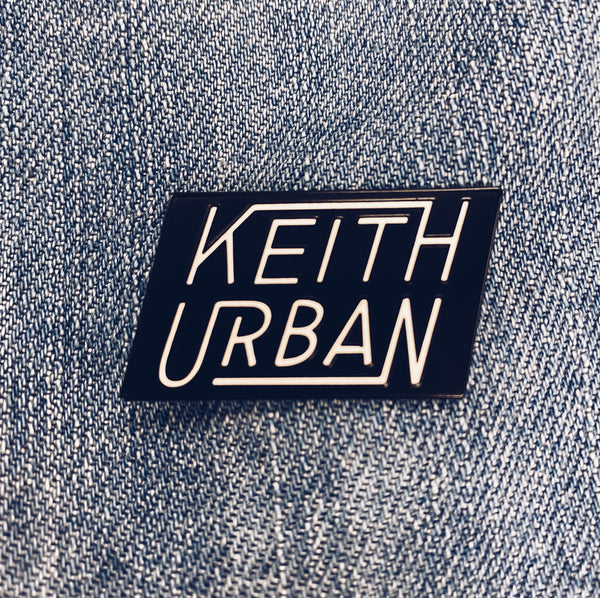 Keith Urban Enamel Pin