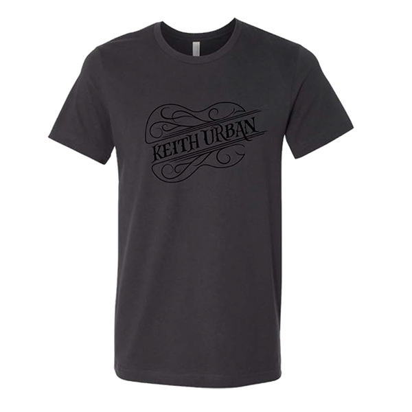 Keith Urban - Guitar Name Dark Grey Unisex T-Shirt