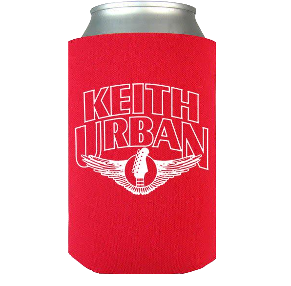 Red Guitar Wing Koozie