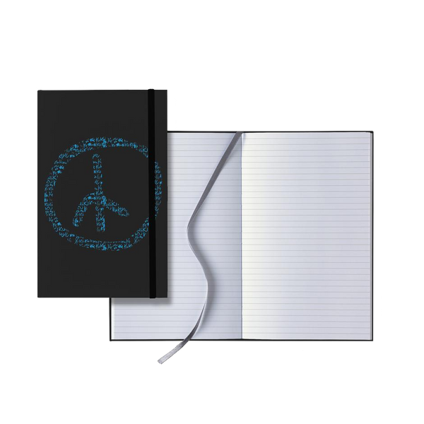 KU Peace Sign Notebook