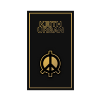 Icon Line - Peace Sign Enamel Pin