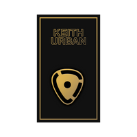 Icon Line - Guitar Pick Enamel Pin