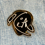 Keith Urban Signature Guitar Pick Enamel Pin