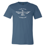 2018 BLUE PHOENIX TEE WITH GRAFFITI U WORLD TOUR DATES ON BACK