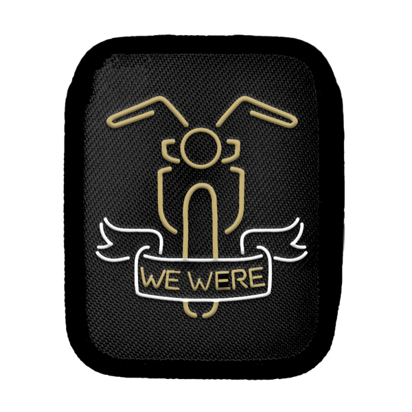 """We Were"" Bike Patch"