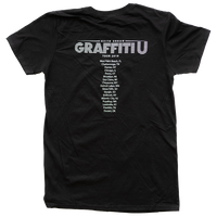 Graffiti U World Tour Summer 2019 Black Tee