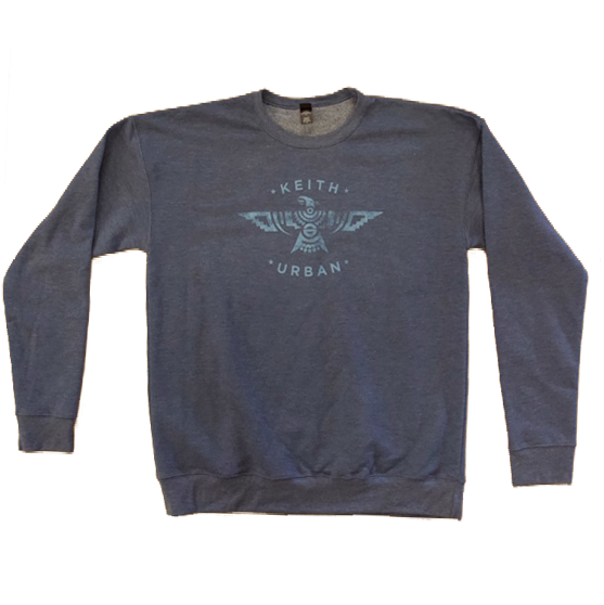 Blue Phoenix Crew Neck Sweatshirt