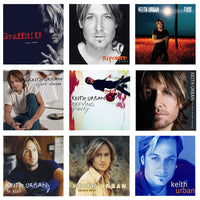 Keith Urban - Full Collection Vinyl Bundle