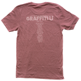 Graffiti U World Tour Summer 2019 Mauve Tee