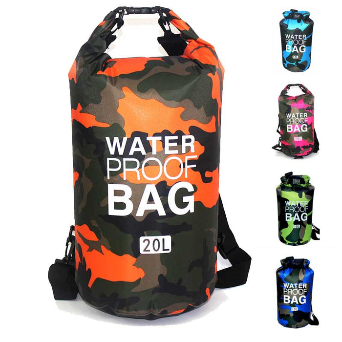 Camouflage Waterproof Storage Bag