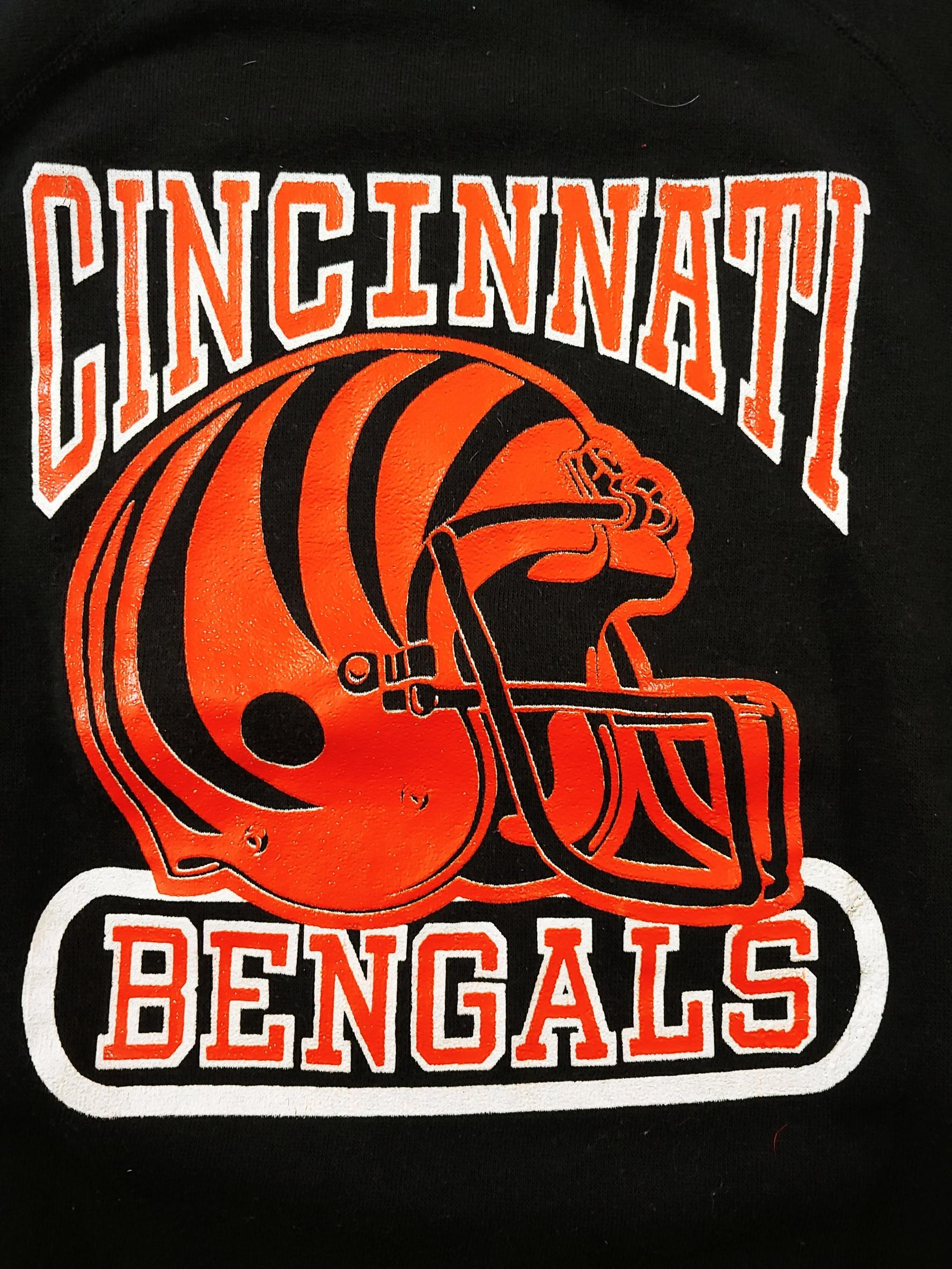 Cincinnati Bengals Vintage Football Sweater Sz M