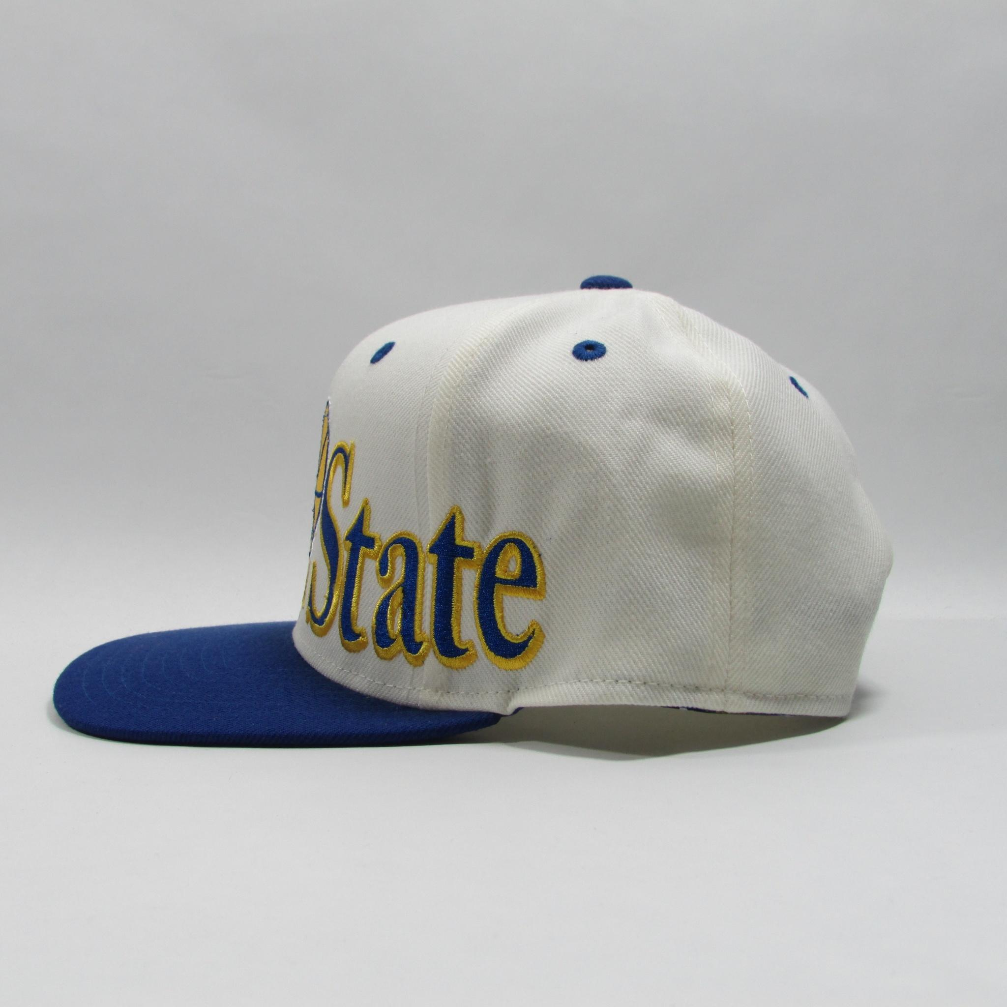 Golden State Warriors Basketball Snapback Hat XL 3d Logo Adidas