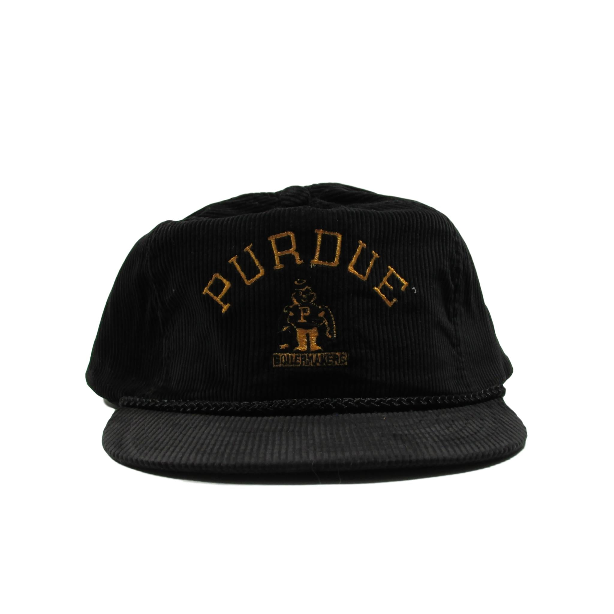 Purdue Boilermakers College Football NCAA Corduroy Twill Snapback Hat
