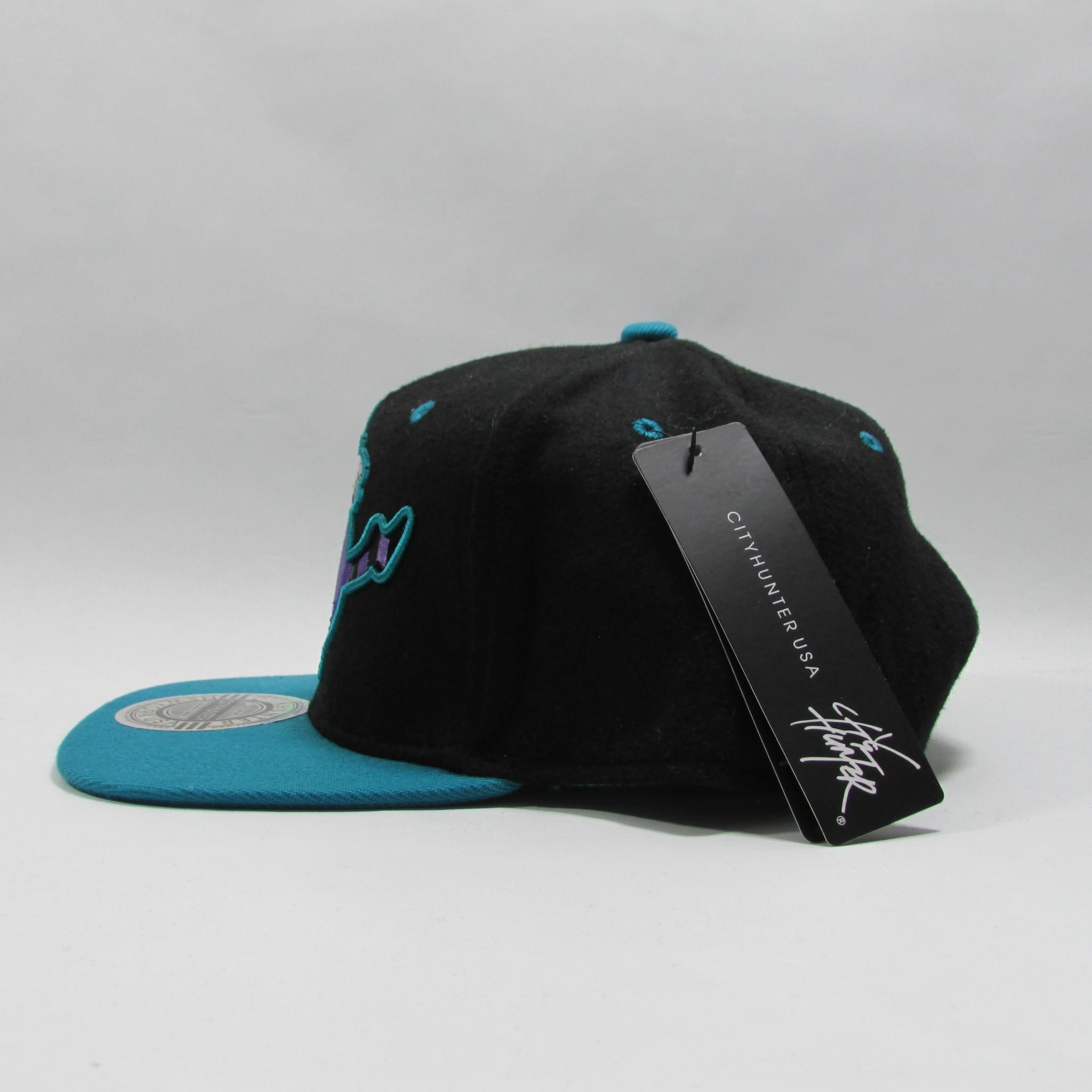 City Hunter Rad Pig Snapback Hat