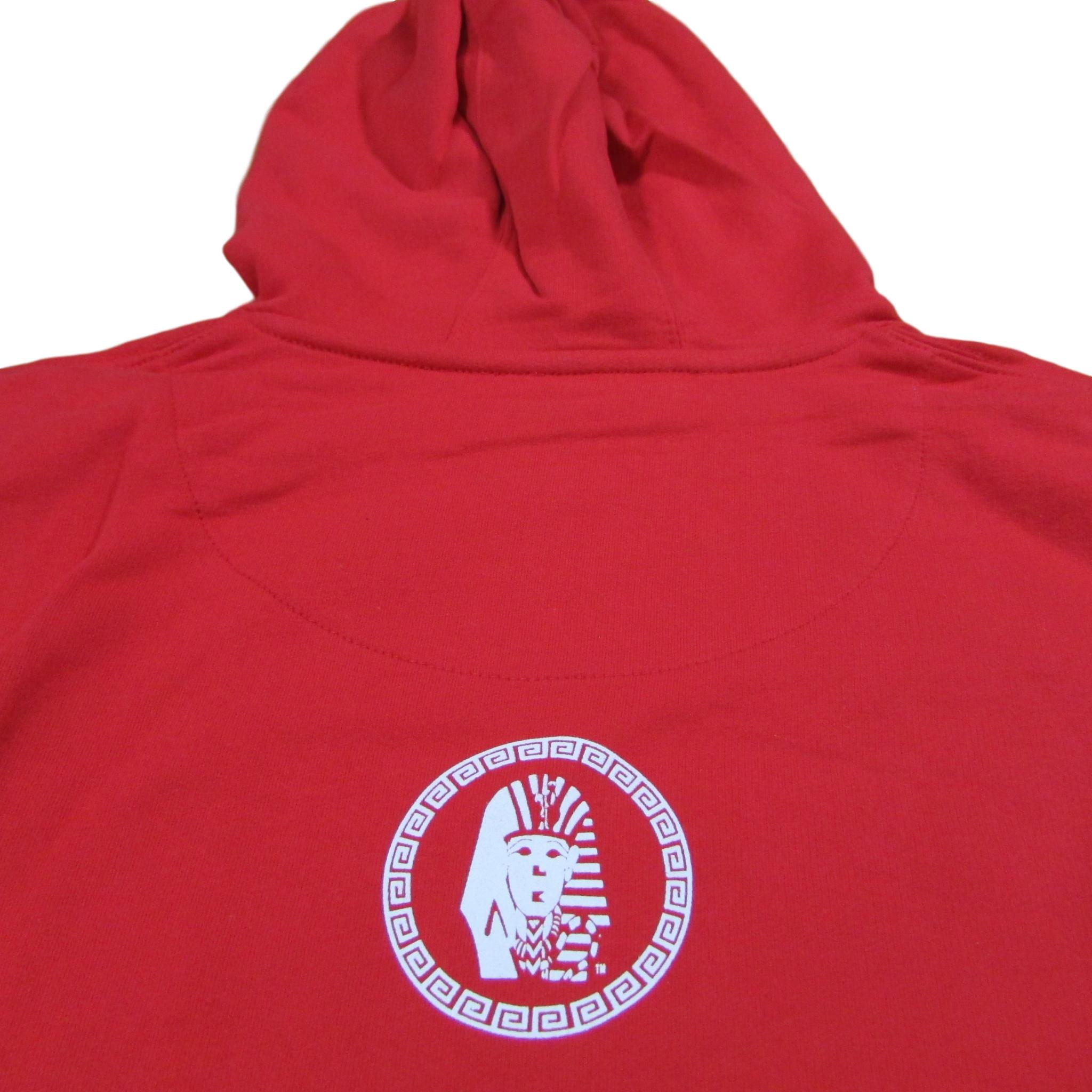 Last Kings X Men Logo Red Hoodie Sweater