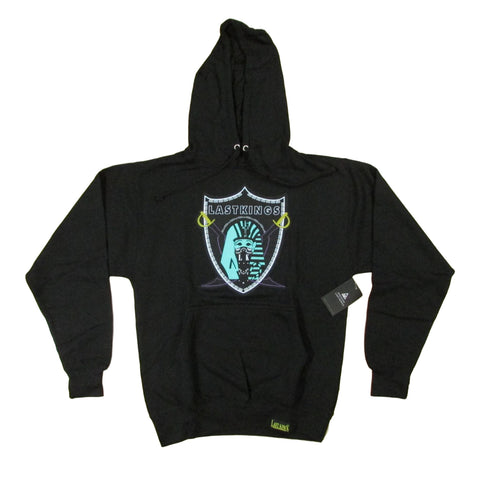 Last Kings Teal Pharaoh Sweater Raiders Emblem Hoodie