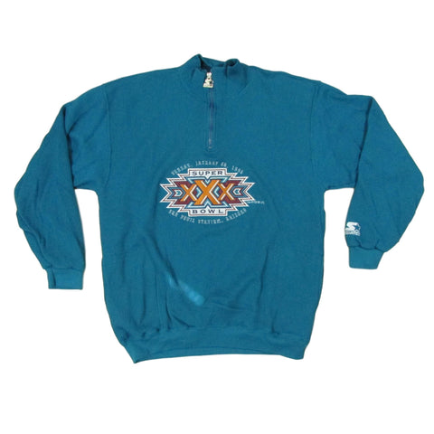 Super Bowl XXX 1996 Starter Thermal Sweater Sz XL
