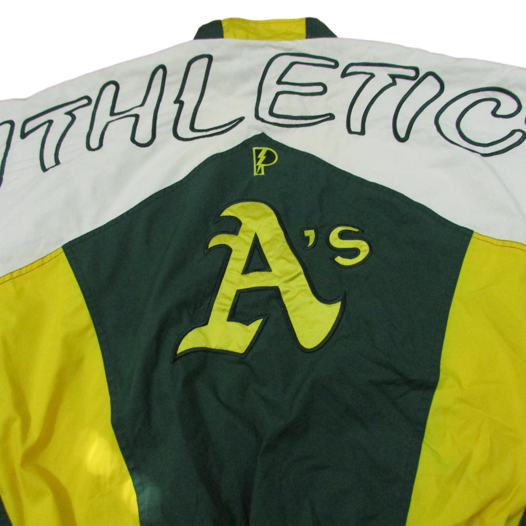 Oakland Athletics Lightweight Baseball Windbreaker Jacket Pro Player Sz XL
