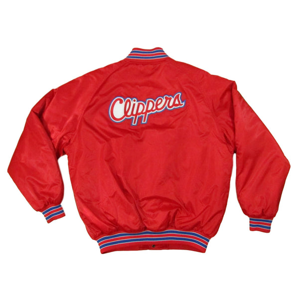 Los Angeles Clippers Basketball Bomber Nike Jacket Sz L