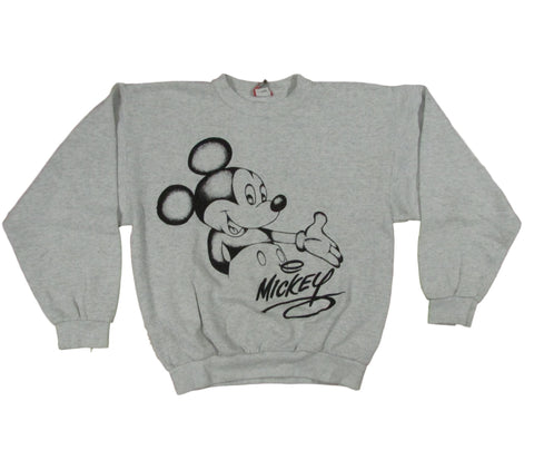 Vintage Mickey Mouse Disney Unisex Sweater Sz L