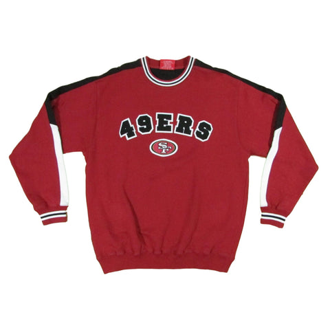 San Francisco 49ers Football Sweater Crewneck Team NFL Sz M
