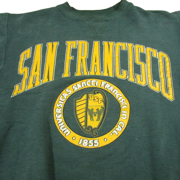 San Francisco State University Vintage College Sweater Sz M