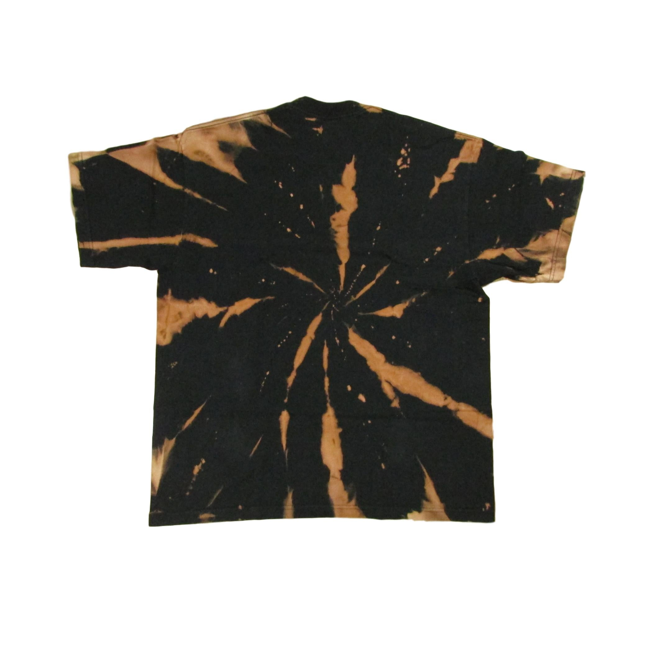San Francisco Baseball Tie Dye Bleach T-Shirt Sz XXL