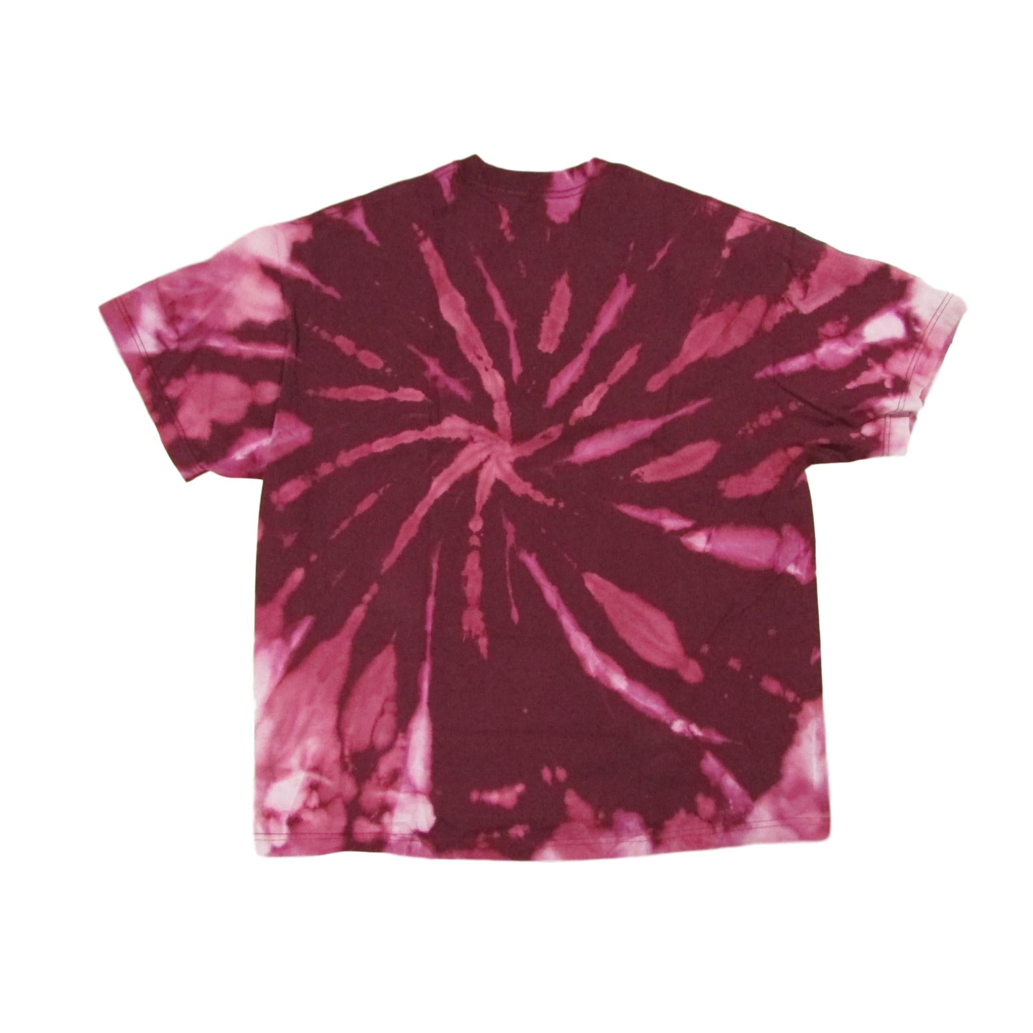 Arizona State University College Football ASU Tie Dye Bleach T-Shirt Sz XL