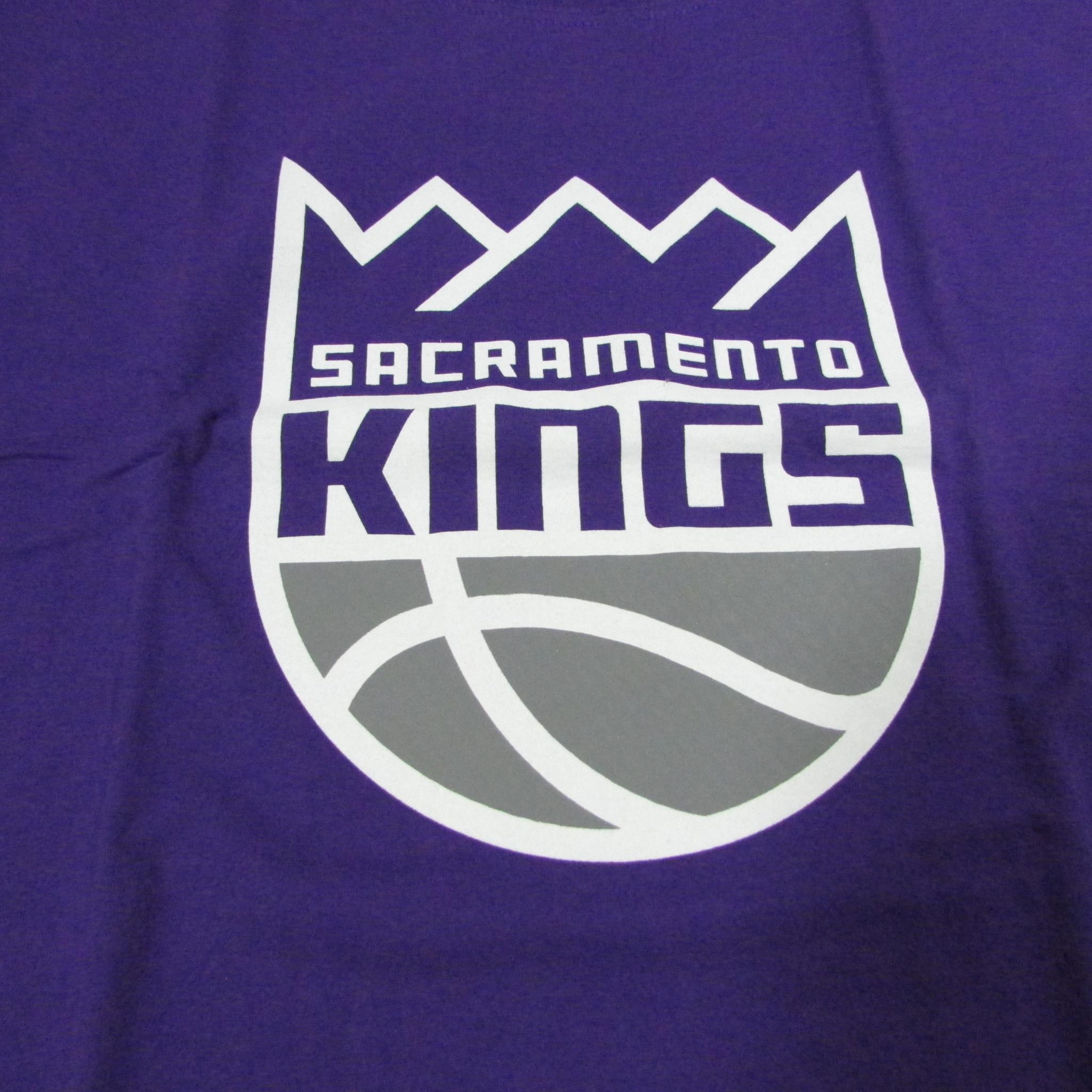 Sacramento Kings NBA Basketball T-Shirt 2017 Logo Sz L