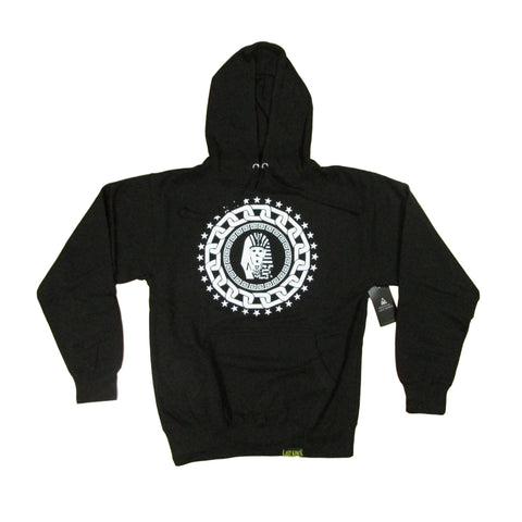Last Kings Platinum Star Pharaoh Logo Hoodie Sweater