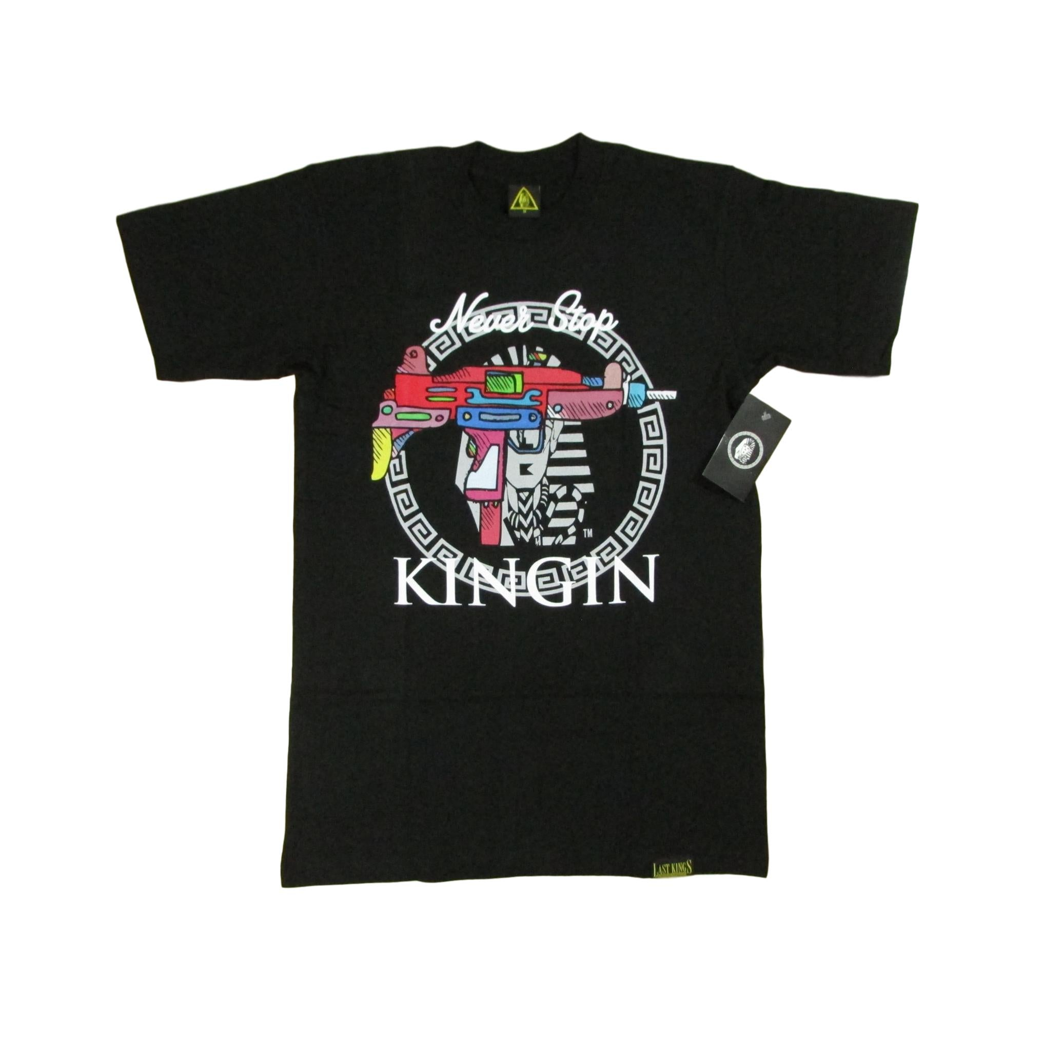 Last Kings Lil Uzi Gun Pharaoh Kingin T-Shirt