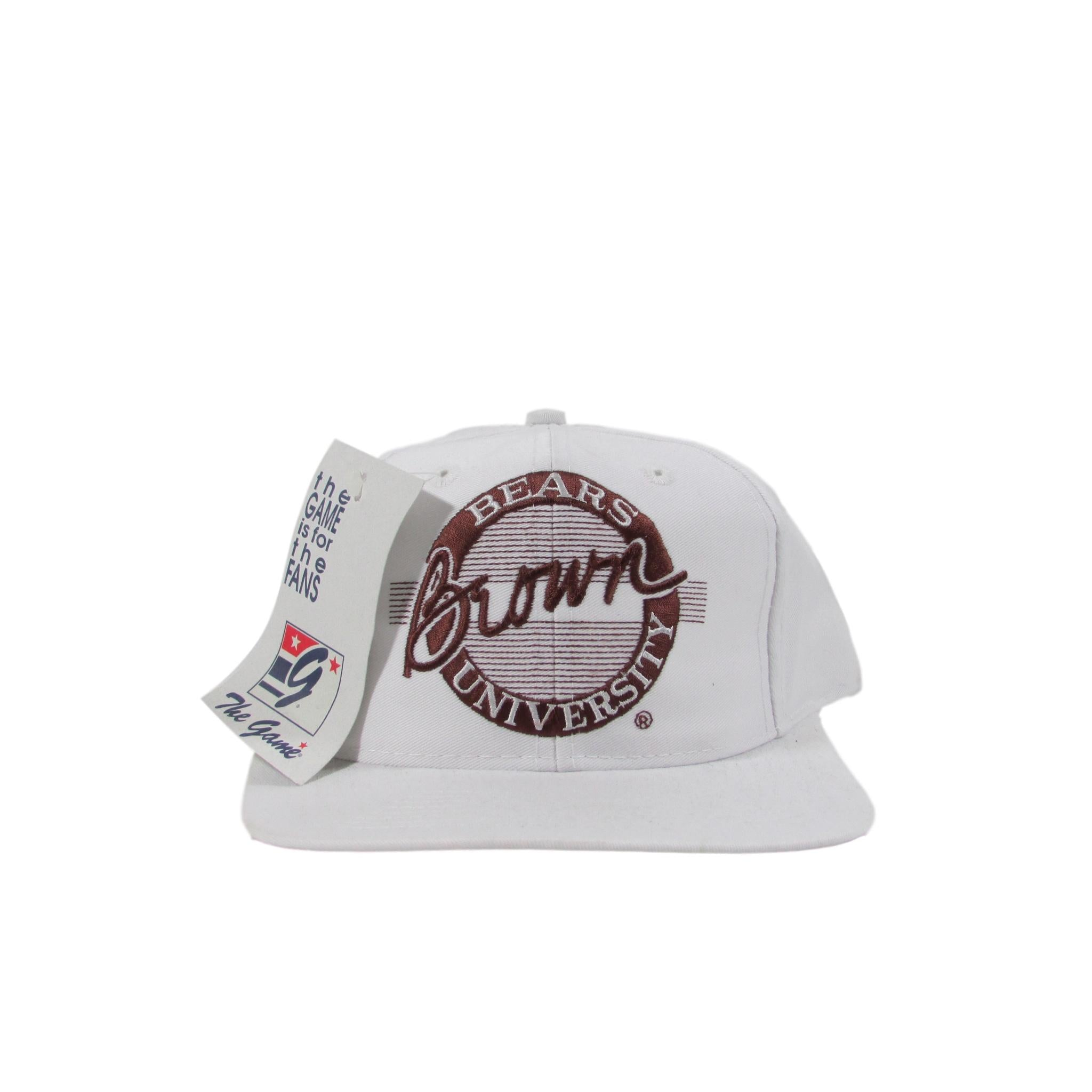 Brown University Bears Football College Snapback Hat Deadstock The Game