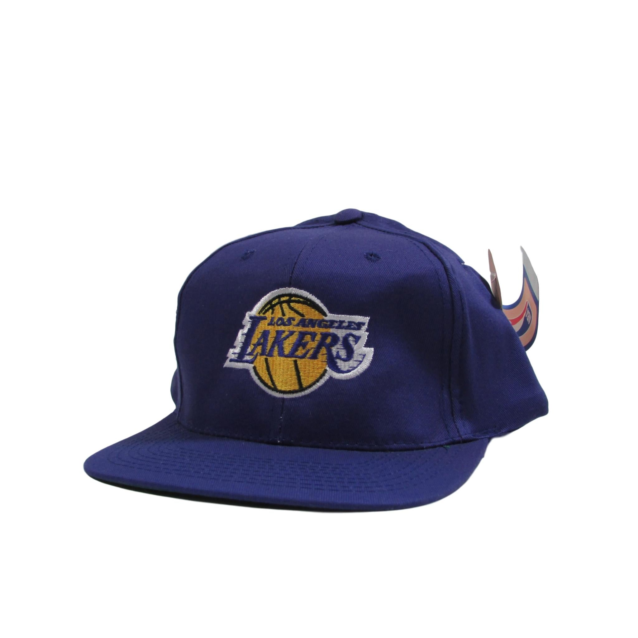 Los Angeles Lakers Classic Logo Vintage Basketball Snapback Hat Adidas