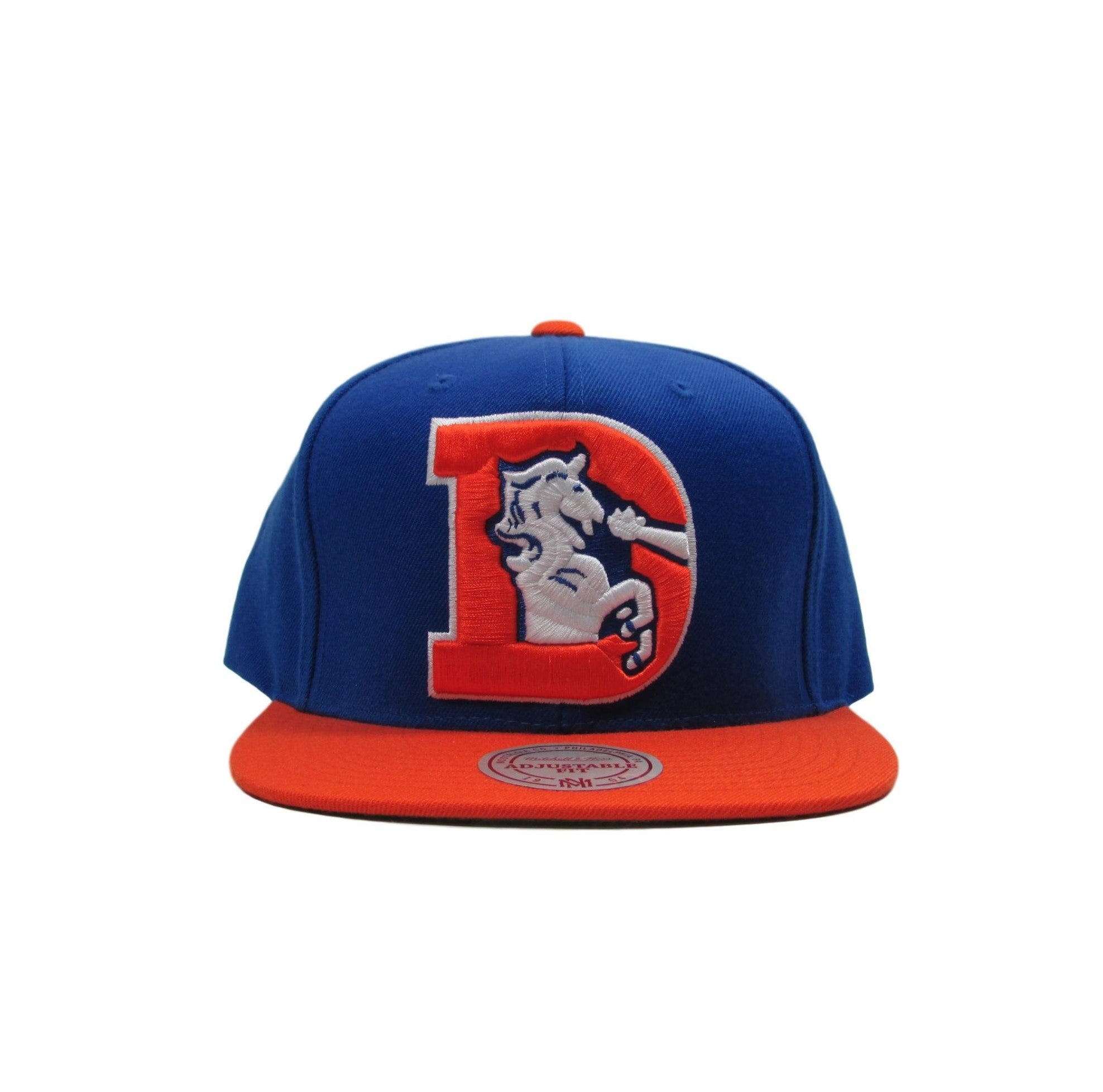 Denver Broncos Mitchell & Ness Football Snapback Hat 1993 XL  Logo