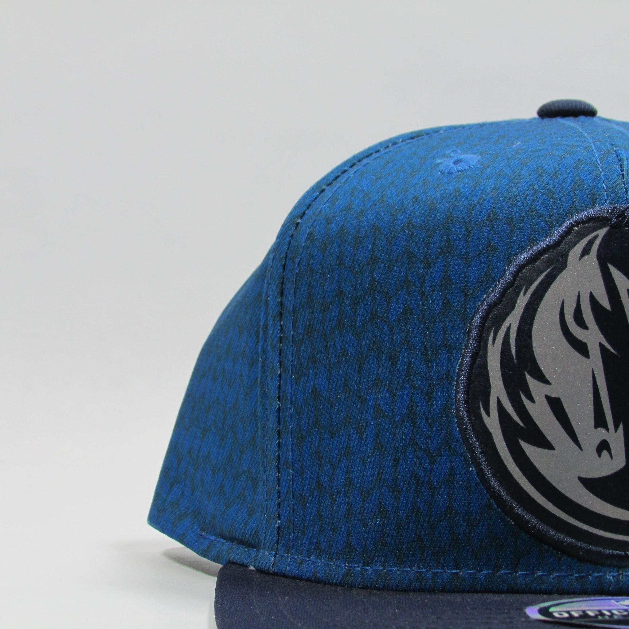 Dallas Mavericks Pattern Blue Basketball Alternative XL Logo Adidas