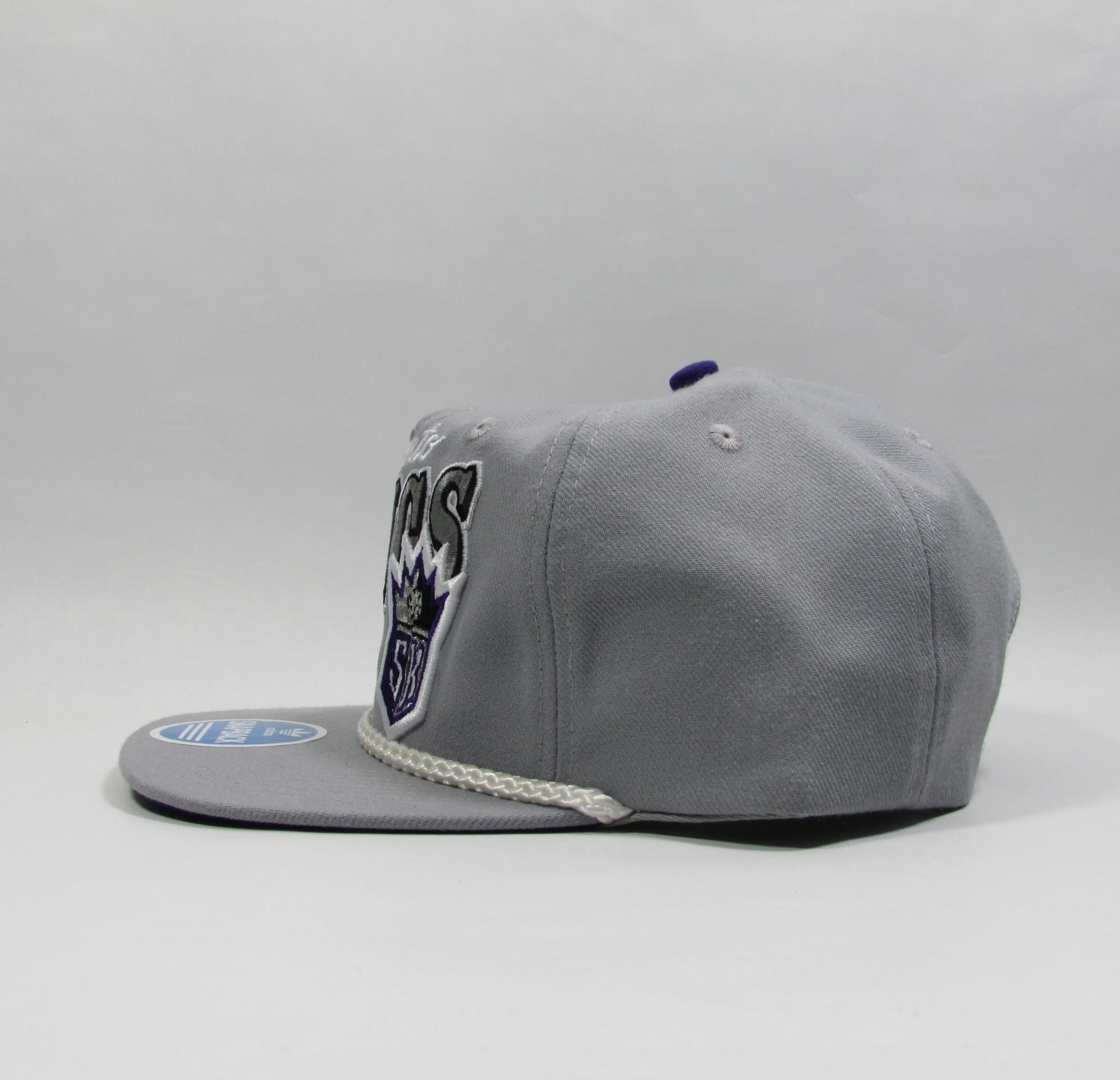 Sacramento Kings Twill Basketball Snapback Hat Adidas