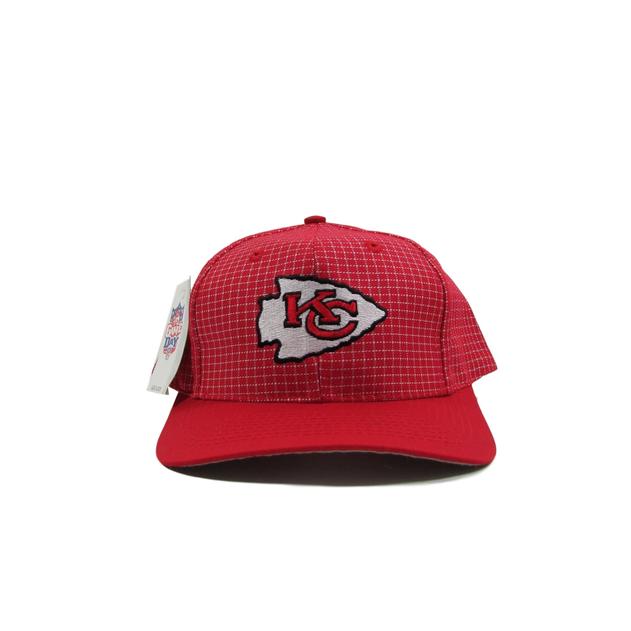 Kansas City Chiefs Classic Pinstripe NFL Game Day Snapback Hat Deadstock