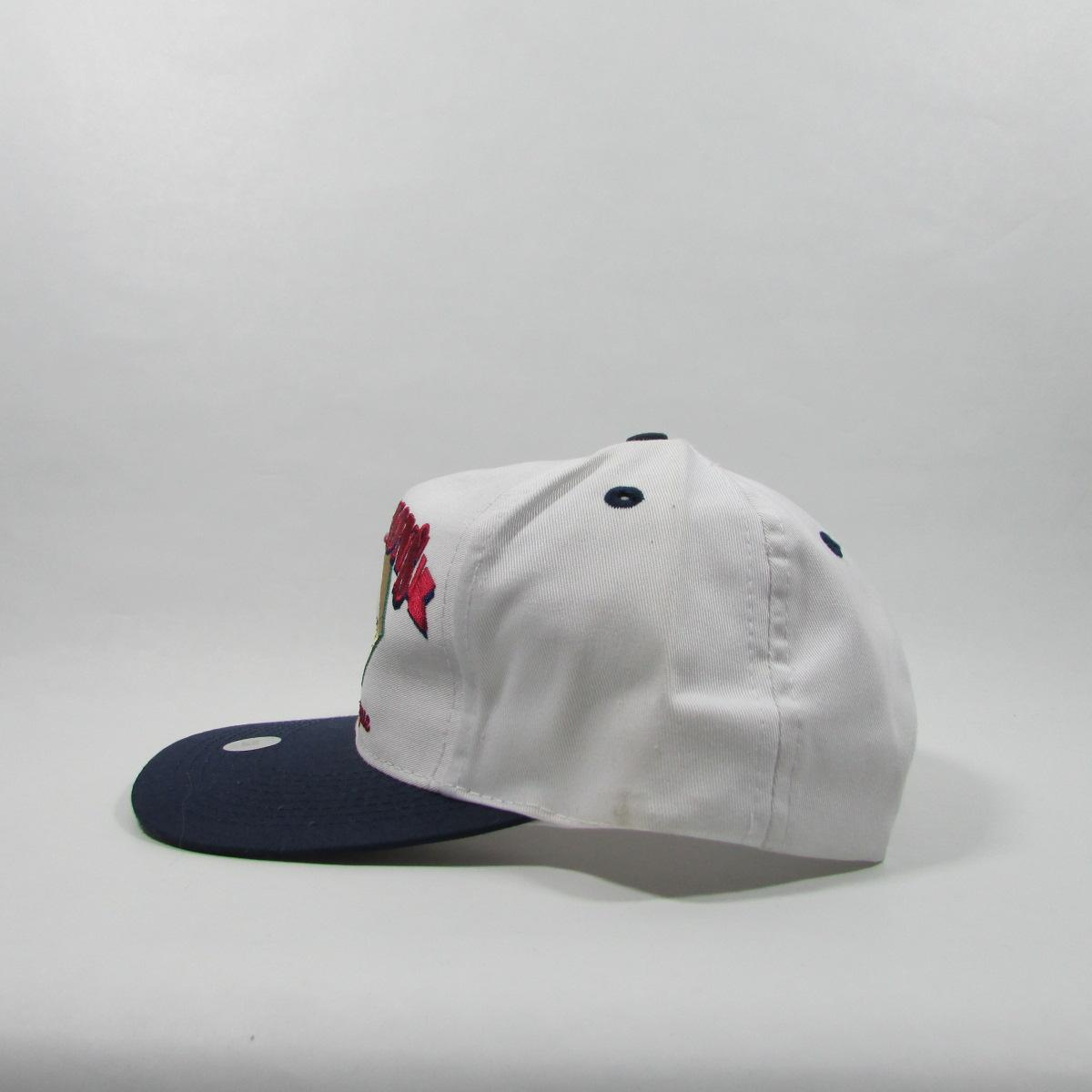 1997 American League Champions Cleveland Indians Deadstock Baseball Snapback Hat