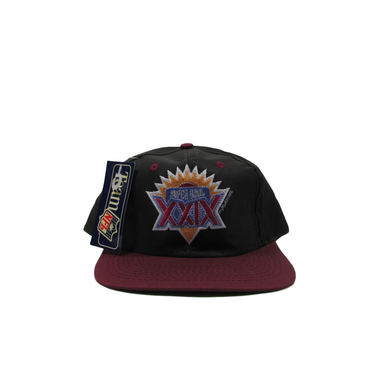 Superbowl XXIX Deadstock Snapback Hat Team NFL Chargers 49ers 1995